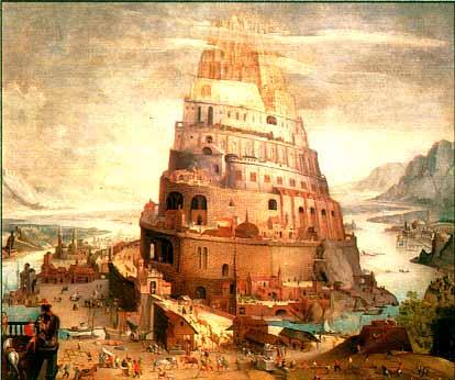 Risultati immagini per torre di babele
